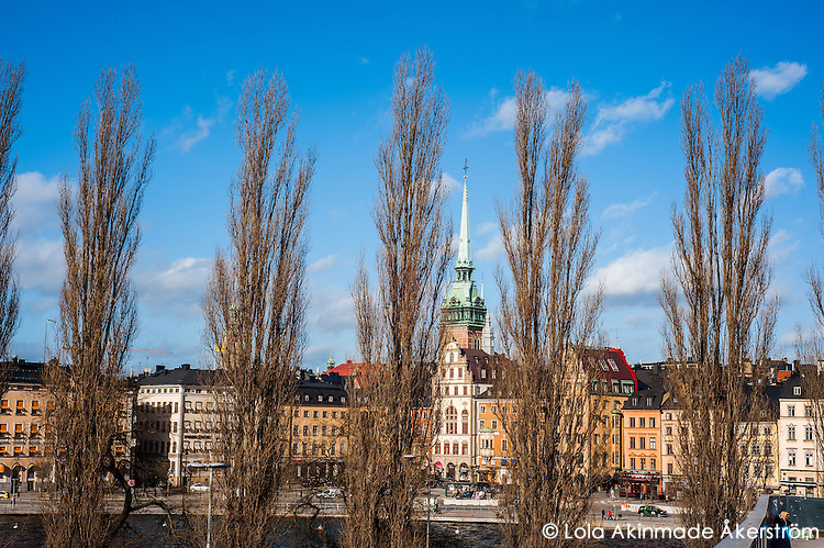 View of Gamla stan - Street scenes from Stockholm