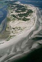Crane's Beach aerial view, Ipswich, MA