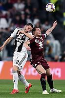 Leonardo Bonucci of Juventus , Andrea Belotti of Torino <br /> Torino 3-5-2019 Allianz Stadium Football Serie A 2018/2019 Juventus - Torino <br /> Photo Matteo Gribaudi / Image Sport / Insidefoto