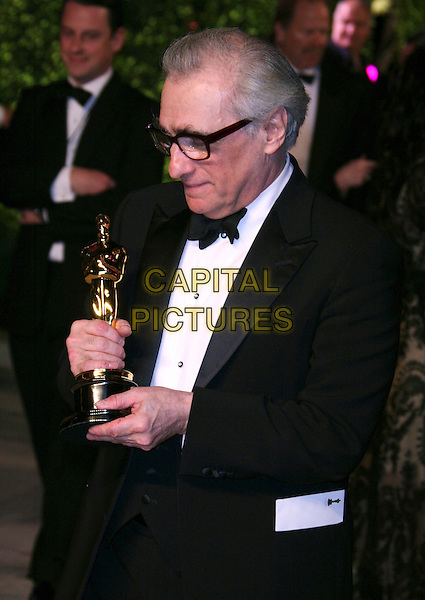 MARTIN SCORSESE.At the 2007 Vanity Fair Oscar Party held at Morton's, West Hollywood, CA, USA,.February 25th 2007..half length bow tie winner.CAP/LNC/RIC.©LNC/Capital Pictures.