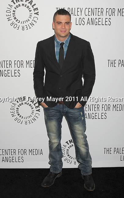 """BEVERLY HILLS, CA - MARCH 16: Mark Salling arrives at the """"Glee"""" Paleyfest night at The Paley Center for Media at the Saban Theatre on March 16, 2011 in Beverly Hills, California."""