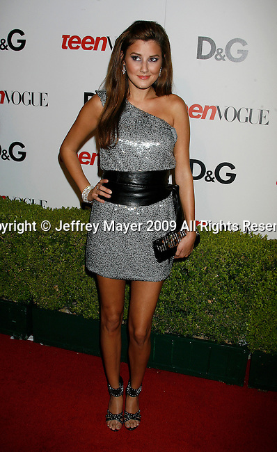HOLLYWOOD, CA. - September 25: Zoe Myers arrives at the 7th Annual Teen Vogue Young Hollywood Party at Milk Studios on September 25, 2009 in Hollywood, California.