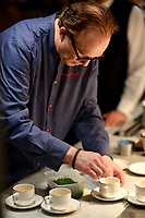 MELBOURNE, 30 June 2017 – Philippe Mouchel prepares a dish at a dinner celebrating his 25 years in Australia with six chefs who worked with him in the past at Philippe Restaurant in Melbourne, Australia.
