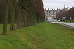 20050123 - France - Saint-Germain-en-Laye<br /> LE CHATEAU VU DEPUIS LA ROUTE DES LOGES<br /> Ref:SAINT-GERMAIN-EN-LAYE_023 - © Philippe Noisette