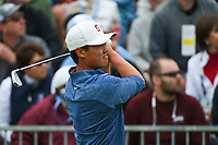 Brandon Wu (a)(USA)  watches his tee shot on 4 during round 4 of the 2019 US Open, Pebble Beach Golf Links, Monterrey, California, USA. 6/16/2019.<br /> Picture: Golffile | Ken Murray<br /> <br /> All photo usage must carry mandatory copyright credit (© Golffile | Ken Murray)