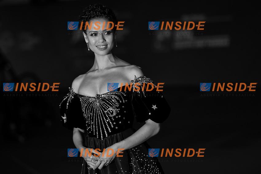 Gugu Mbatha Raw <br /> Roma 17/10/2019 Auditorium Parco della Musica <br /> Motherless Brooklin Red Carpet <br /> Roma Cinema Fest <br /> Festa del Cinema di Roma 2019 <br /> Photo Andrea Staccioli / Insidefoto