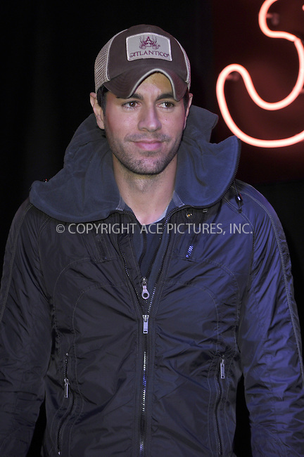 WWW.ACEPIXS.COM<br /> <br /> March 27 2014, London<br /> <br /> Enrique Iglesias meets fans and signs copies of his new album 'Sex + Love' at HMV, Oxford Street on March 27, 2014 in London, England<br /> <br /> By Line: Famous/ACE Pictures<br /> <br /> <br /> ACE Pictures, Inc.<br /> tel: 646 769 0430<br /> Email: info@acepixs.com<br /> www.acepixs.com