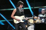 ROCK & ROLL HALL OF FAME CONCERT AT MADISON SQUARE GARDEN Jeff Beck,
