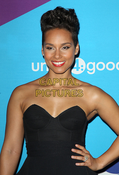 Los Angeles, CA - FEBRUARY 27: Alicia Keys Attending Unite4good And Variety Host 1st Annual Unite4:humanity Event, Held at Sony Pictures Studios California on February 27, 2014.  <br /> CAP/MPI/RTNUPA <br /> &copy;RTNUPA/MediaPunch/Capital Pictures
