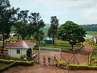 Luzira Women's Prison which holds 370 women and some 30 children.
