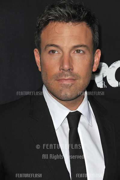 "Ben Affleck at the Los Angeles premiere of his movie ""Argo"" at the Samuel Goldwyn Theatre, Beverly Hills..October 4, 2012  Beverly Hills, CA.Picture: Paul Smith / Featureflash"