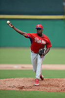 Philadelphia Phillies pitcher Jose Tavaras (69) during an Instructional League game against the New York Yankees on September 23, 2014 at the Bright House Field in Clearwater, Florida.  (Mike Janes/Four Seam Images)
