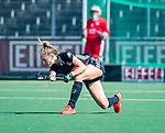 AMSTELVEEN -  Lauren Stam (A'dam)   tijdens de hoofdklasse competitiewedstrijd hockey dames,  Amsterdam-Oranje Rood (5-2). COPYRIGHT KOEN SUYK