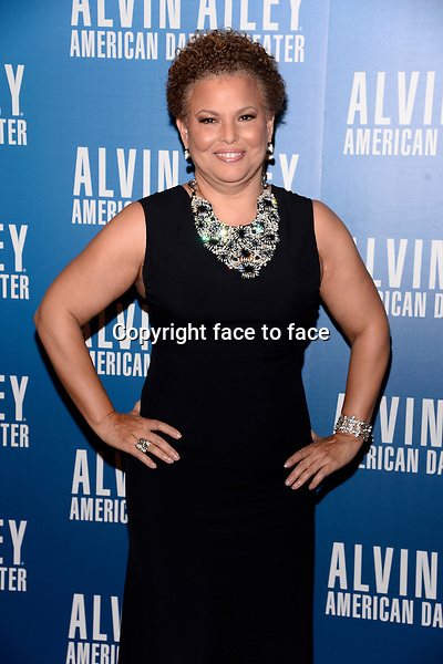 NEW YORK, NY - DECEMBER 04: Debra L. Lee pictured at Alvin Ailey's Opening Night Gala at New York City Center, on December 4, 2013 in New York City. Credit: RTNPluvious/MediaPunch Inc.<br />