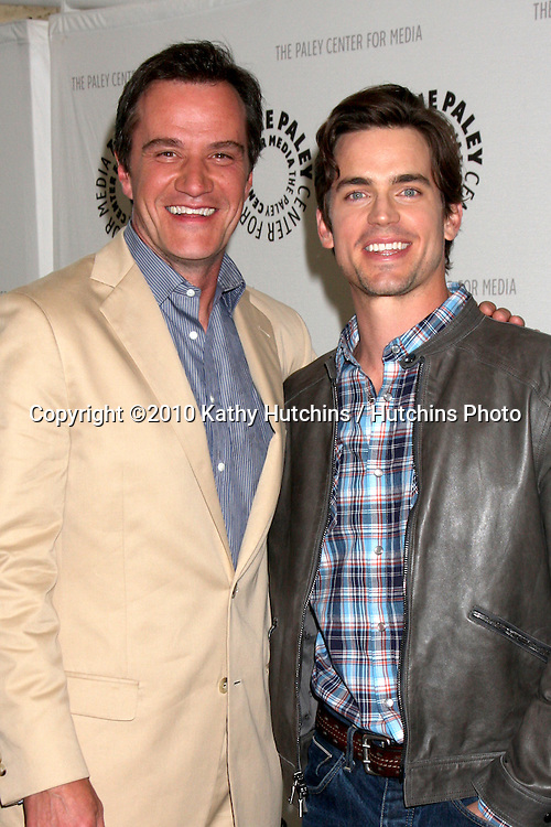 "Tim DeKay & Matthew Bomer.arrives at ""White Collar"" Comes Clean:  An Evening with the Cast & Creative Team.Paley Center for Media.Beverly Hills, CA.April 6, 2010.©2010 Kathy Hutchins / Hutchins Photo..."