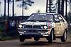 LANCIA Delta HF 4WD #4, Markku ALEN (FIN) - Ilkka KIVIMAKI (FIN), 1000 LAKES RALLY 1987