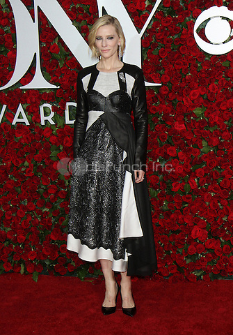 NEW YORK, NY-June 12:  Cate Blanchett  at the 70th Annual Tony Awards at the Beacon Theatre in New York. NY June 12, 2016. Credit:RW/MediaPunch