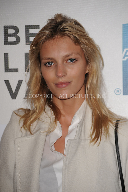 WWW.ACEPIXS.COM . . . . . .April 25, 2011...New York City...Anja Rubik attends the premiere of 'Last Night' during the 2011 Tribeca Film Festival at BMCC Tribeca PAC on April 25, 2011 in New York City....Please byline: KRISTIN CALLAHAN - ACEPIXS.COM.. . . . . . ..Ace Pictures, Inc: ..tel: (212) 243 8787 or (646) 769 0430..e-mail: info@acepixs.com..web: http://www.acepixs.com .