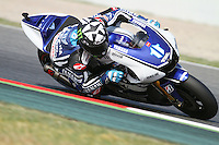 2.06.2012 Barcelona, Spain. Gran Prix Aperon de Catalunya. Free Practice Den Spies USA riding Yamaha, Yamaha Factory Racing team at Circuit de Catalunta