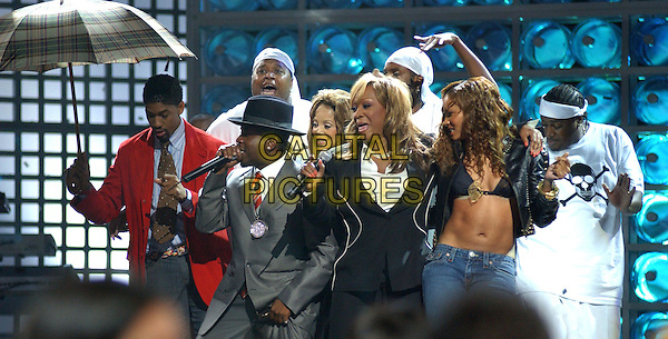 BIG BOI, PATTI LABELLE, LATOYA JACKSON & CIARA.Perform at the 15th Annual World Music Awards held at The Thomas & Mack Center in Las Vegas, Nevada,  September 15th 2004..half length on stage singing concert.Ref: DVS.www.capitalpictures.com.sales@capitalpictures.com.©Capital Pictures.