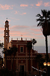 Israel, Tel Aviv-Yafo. St. Peter's Church in Jaffa