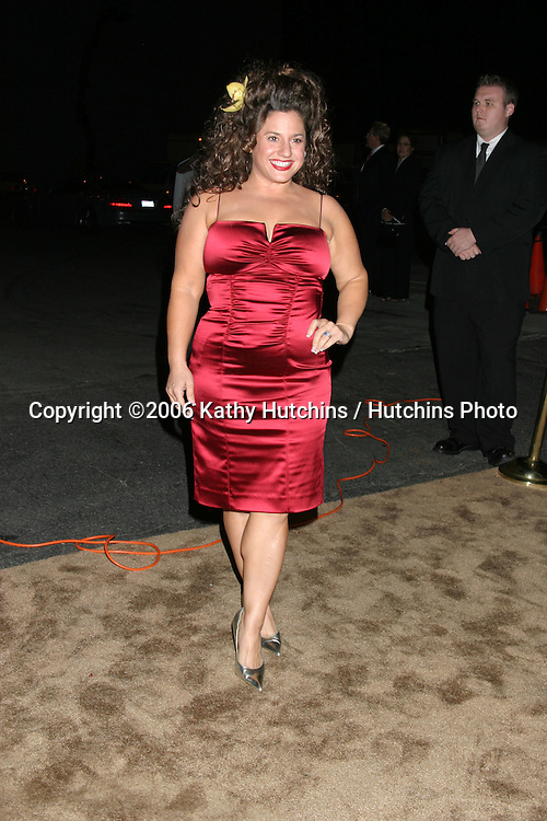 "Marissa Jaret Winokur.""A Fine Romance"" To benefit the Motion Picture & Television Fund.Los Angeles, CA.November 18, 2006.©2006 Kathy Hutchins / Hutchins Photo...."