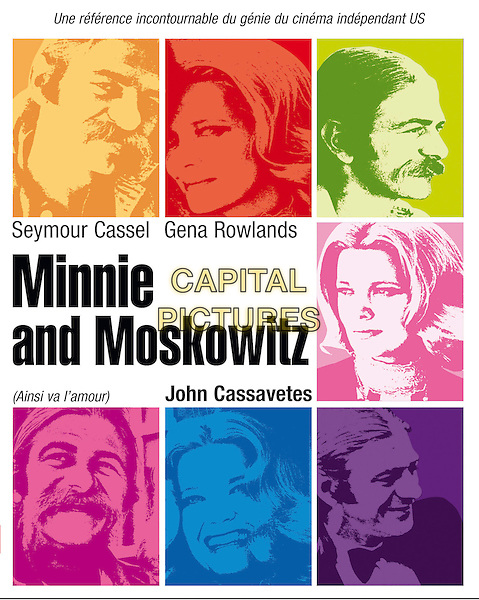 POSTER ART.in Minnie and Moskowitz .*Filmstill - Editorial Use Only*.CAP/PLF.Supplied by Capital Pictures.