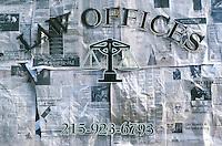 Legge.Law. Ufficio chiuso.Closed office...