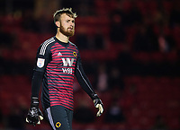 Wolverhampton Wanderers U21's Will Norris<br /> <br /> Photographer Chris Vaughan/CameraSport<br /> <br /> The EFL Checkatrade Trophy Northern Group H - Lincoln City v Wolverhampton Wanderers U21 - Tuesday 6th November 2018 - Sincil Bank - Lincoln<br />  <br /> World Copyright © 2018 CameraSport. All rights reserved. 43 Linden Ave. Countesthorpe. Leicester. England. LE8 5PG - Tel: +44 (0) 116 277 4147 - admin@camerasport.com - www.camerasport.com