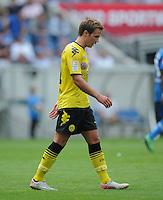 FUSSBALL   1. BUNDESLIGA  SAISON 2011/2012   2. Spieltag   13.08.2011 TSG 1899 Hoffenheim - Borussia Dortmund  Enttaeuschung; Mario Goetze (Borussia Dortmund)