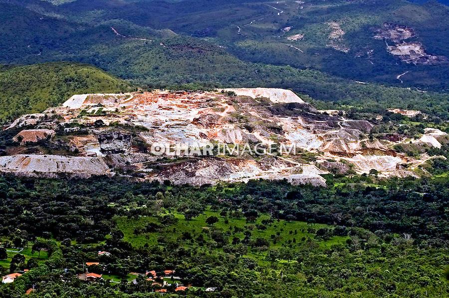 Mineração de pedras preciosas em Pirenópolis. Goiás. 2007. Foto de Caetano Barreira.