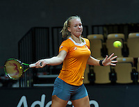 2016, 12 April, Arena Loire, Tr&eacute;laz&egrave;,  Semifinal FedCup, France-Netherlands, Kiki Bertens (NED)<br /> Photo:Tennisimages/Henk Koster