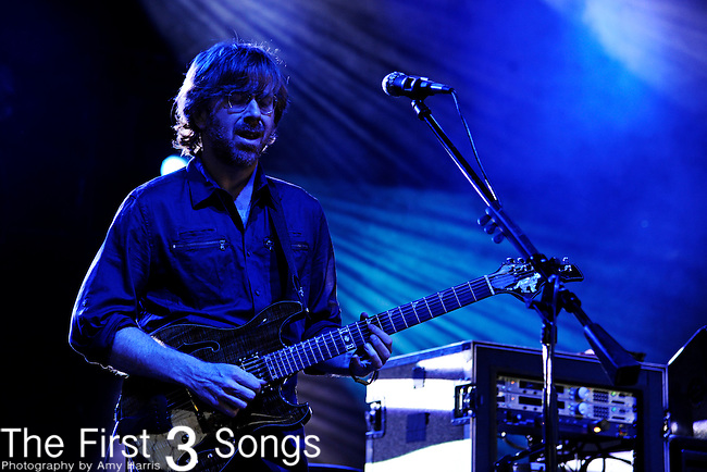 Trey Anastasio of Phish performs during the Summer 2011 Tour at Riverbend Music Center in Cincinnati, Ohio on June 5, 2011.