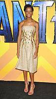 Letitia Wright at the &quot;Black Panther&quot; European film premiere, Hammersmith Apollo (Eventim Apollo), Queen Caroline Street, London, England, UK, on Thu 08 February 2018.<br /> CAP/CAN<br /> &copy;CAN/Capital Pictures