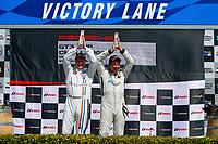 Porsche GT3 Cup Challenge USA<br /> Sonoma Raceway<br /> Sonoma Raceway, Sonoma, CA USA<br /> Sunday 17 September 2017<br /> Porsche GT3 Cup Challenge USA, Race 2, Platinum Masters Podium<br /> World Copyright: Jake Galstad<br /> LAT Images
