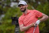 Kyle Stanley (USA) watches his tee shot on 2 during day 2 of the Valero Texas Open, at the TPC San Antonio Oaks Course, San Antonio, Texas, USA. 4/5/2019.<br /> Picture: Golffile | Ken Murray<br /> <br /> <br /> All photo usage must carry mandatory copyright credit (© Golffile | Ken Murray)