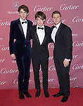 Alex Lawther, Allen Leech, Matthew Beard attends The The 26th Annual Palm Springs International Film Festival in Palm Springs, California on January 03,2015                                                                               © 2014 Hollywood Press Agency