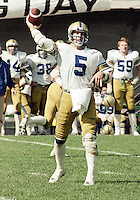 Ralph Dieter Brock Winnipeg Blue Bombers quarterback 1983. Copyright photograph Scott Grant