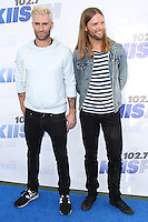 CARSON, CA, USA - MAY 10: Adam Levine, James Valentine, Maroon 5 at 102.7 KIIS FM's 2014 Wango Tango at StubHub Center on May 10, 2014 in Carson, California, United States. (Photo by Xavier Collin/Celebrity Monitor)