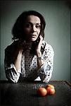 Cully, le 13 janvier 2012, Yasmine Char, directrice du théâtre de l'Octogone à Pully. © sedrik nemeth