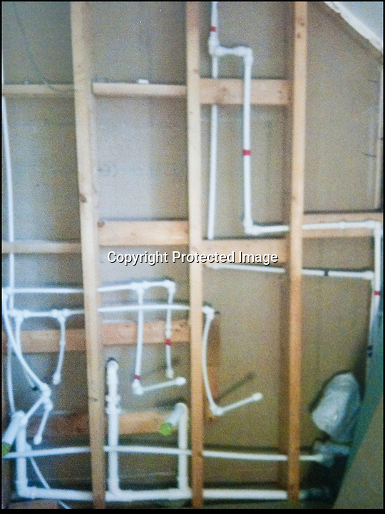 BNPS.co.uk (01202 558833)<br /> Pic: PhilYeomans/BNPS<br /> <br /> Carol did a plumbing course as well.<br /> <br /> Plucky Carol Sullivan turned a £160,000 black hole left by cowboy builders into one million pound house - after building her dream home herself.<br /> <br /> Carol was left severley out of pocket after her luxury home was built with sub-standard mortar - meaning the whole structure had to be pulled down when the project was half way through.<br /> <br /> After firing the builders and waving goodbye to £160,000, undaunted Carol(50) enrolled on a bricklaying course at her local college and learned how to build the house herself. <br /> <br /> Further courses in carpentry and plumbing  have enabled determined Carol to complete the project in a year. The house is now thought to worth £1 million.