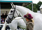 30th August 2017. Louisa Milne Home (GBR) riding King Eider during the First Horse Inspection of the 2017 Burghley Horse Trials, Stamford, United Kingdom. Jonathan Clarke/JPC Images