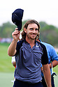 Tommy Fleetwood (ENG) during the final round of the Abu Dhabi HSBC Golf Championship played at Abu Dhabi Golf Club 19-22 January 2017.(Picture Credit / Phil Inglis)
