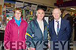 Noreen and Bill O'Riordan Gneeveguilla with John O'Sullivan at the Brownes Store open day on Wednesday