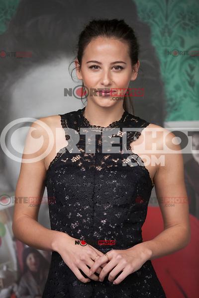 Actress Irene Escolar poses during `Un otono sin Berlin´ film presentation in Madrid, Spain. November 10, 2015. (ALTERPHOTOS/Victor Blanco)