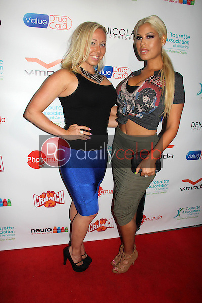 Tricia Berens, Bridgette B.<br /> at the 1st Annual Teaming Up For Tourettes Fundraiser, Attic, Hollywood, CA 06-05-15<br /> David Edwards/Dailyceleb.com 818-249-4998