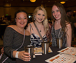Sarah, Holly and Jade during the Young Alumni Beer Fest in the Reno Ballroom in downtown Reno on Friday, May 3, 2019.