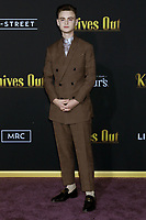 """LOS ANGELES - NOV 14:  Jaeden Martell, Jaeden Lieberher at the """"Knives Out"""" Premiere at Village Theater on November 14, 2019 in Westwood, CA"""