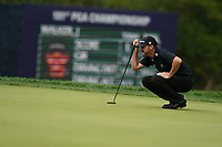 Jimmy Walker (USA) on the 14th green during the final round at the PGA Championship 2019, Beth Page Black, New York, USA. 20/05/2019.<br /> Picture Fran Caffrey / Golffile.ie<br /> <br /> All photo usage must carry mandatory copyright credit (© Golffile | Fran Caffrey)