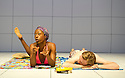 Love and Information by Caryl Churchill, directed by James MasDonald.  Sex with Nikki Amuka-Bird, Joshua James. Opens at The Royal Court Theatre Downstairs  on 14/9/12.CREDIT Geraint Lewis